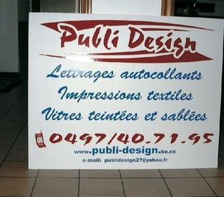 Publi Design - Enseignes
